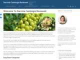 Garcinia Cambogia Reviews -  Don't Try Before You Read This