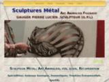 Gauger pierre lucien, sculpteur métal, créateur animalier