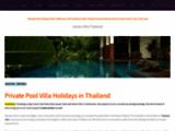 Location vacances campagnarde en Thailande