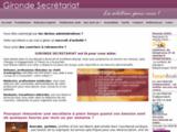 Secrétaire à domicile - Gironde - Accueil