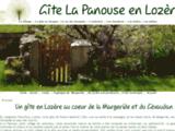Gîte en Lozère  La Panouse