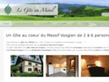 Un Gîte au coeur des Vosges de 2 à 6 personnes ( Possibilité 8 personnes )