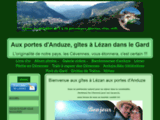 Gîtes avec piscine à Lézan  dans le Gard aux portes d'Anduze