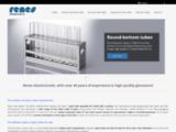 Leader de la fabrication de tubes en verre en Europe