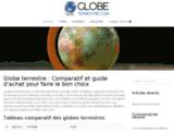 Comparatif globe terrestre