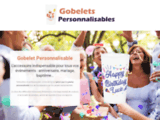 Gobelet Personnalisable pour événement : anniversaire, mariage, baptême