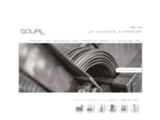 Fabrication de pièces industrielles, roll, platelage - Goupil Industrie