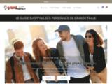 Grandshopping.fr - Le Guide Shopping des Personnes de Grande Taille
