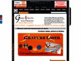 Grav-I-Tech gravure, marquage, decoupe laser region de Sherbrooke