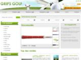 GRIPS GOLF : grips de golf, Matériel et accessoires de golf