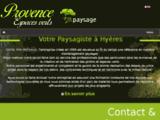 Gros pin paysage : aménagement paysages Hyères 83