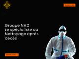 Spécialiste en nettoyage de maison insalubre et après décès - Groupe Nad