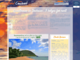 5 Smart Bungalows *** in Caribean 200m Beach AC Wifi