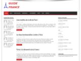 France Guide : informations touristiques sur la France, résevation, voyage