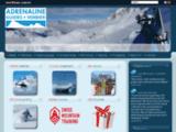 ADRENALINE - Votre Bureau des Guides de Verbier, heliski hors-piste...