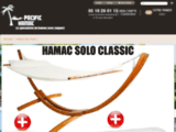 Boutique de hamac avec support Pacific