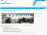 Fabrication de tours aéroréfrigérantes en France
