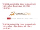 Garde chat Bordeaux, Faire garder son chat, garde chat à domicile, visite à domicile chat - Harmonie Chat : garde de chat à domicile Bordeaux