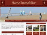 Agence immobiliere HECHEL IMMOBILIER sur la rue