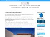 Location vacances avec piscine dans l'Hérault (34)
