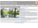 Le village touristique d'Heudreville-sur-Eure,En Normandie.