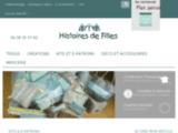 Présentation du site officiel de la boutique Histoires de Filles au Touquet-Paris-Plage