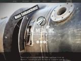 H.M. Métal [ Usinage & fabrication de produits métalliques : Découpage laser, soudure/... ]