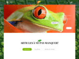 Vente de reptile et d'accessoire à prix bas, en France et en Belgique.