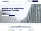 Homunity : Crowdfunding Immobilier