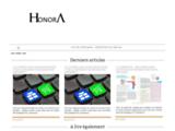 HONORA, Sélection de produits de qualité et originaux conçus et fabriqués en France