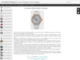 Blog spécialisé en horlogerie de luxe