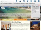 Hôtel Bel Azur à Six Fours les Plages en bord de mer.