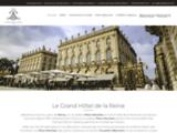 Grand Hôtel de la Reine Nancy – Hôtel de charme place Stanislas