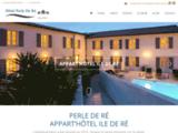 Appart Hotel Perle Ré : Ile de Ré, à 50 m de la plage.