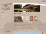 Hotel de la plage contis - Accueil
