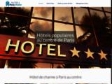 Hôtel au centre de Paris
