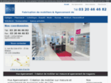 Agencement magasin, mobilier magasin sur mesure, Hus agencement Lille, Nord