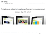 HYBRID CREATION - Graphiste freelance sur lille - web design, print,logo,illustration