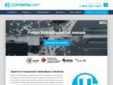 Hydrauliques Continental : Expert en composantes hydrauliques