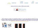 Produit de publicité personnalisé - ICARkom