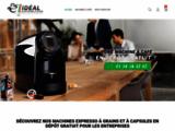 Lavazza, Illy et Vergnano en dépôt gratuit | IDEAL DISTRIBUTIONS. Machines expresso Lavazza en dépôt gratuit