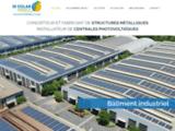Le constructeur de bâtiments photovoltaïques et des centrales solaires en Fran