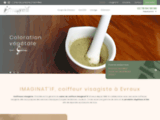 Coiffeur visagiste Évreux – Soin du cheveu bio | IMAGINA'TIF
