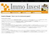 Immo-Invest, site d'informations immobilières