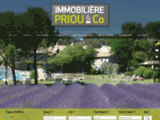 Agence Immobiliere Priou : Appartement Aix En Provence - Immobilier Aix En Provence - Maison proche d'Aix En Provence - Vente terrain Aix en Provence