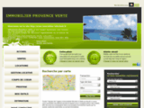 Agence immobiliere IMMOBILIER PROVENCE VERTE