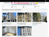 Agence immobiliere Prudhommeaux et Fils