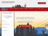 Infestation Montréal - Exterminateur insectes et rongeurs