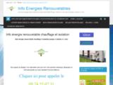 info énergie renouvelable photovoltaique autoconso Conseil gratuit association