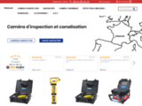 Inspection Camera - Camera inspection, camera canalisation, camera assainissement, camera TP, camera cheminée, camera video d'inspection, camera travaux publics, camera inspection reseaux, camera plombier, camera piscine, camera inspection verticale